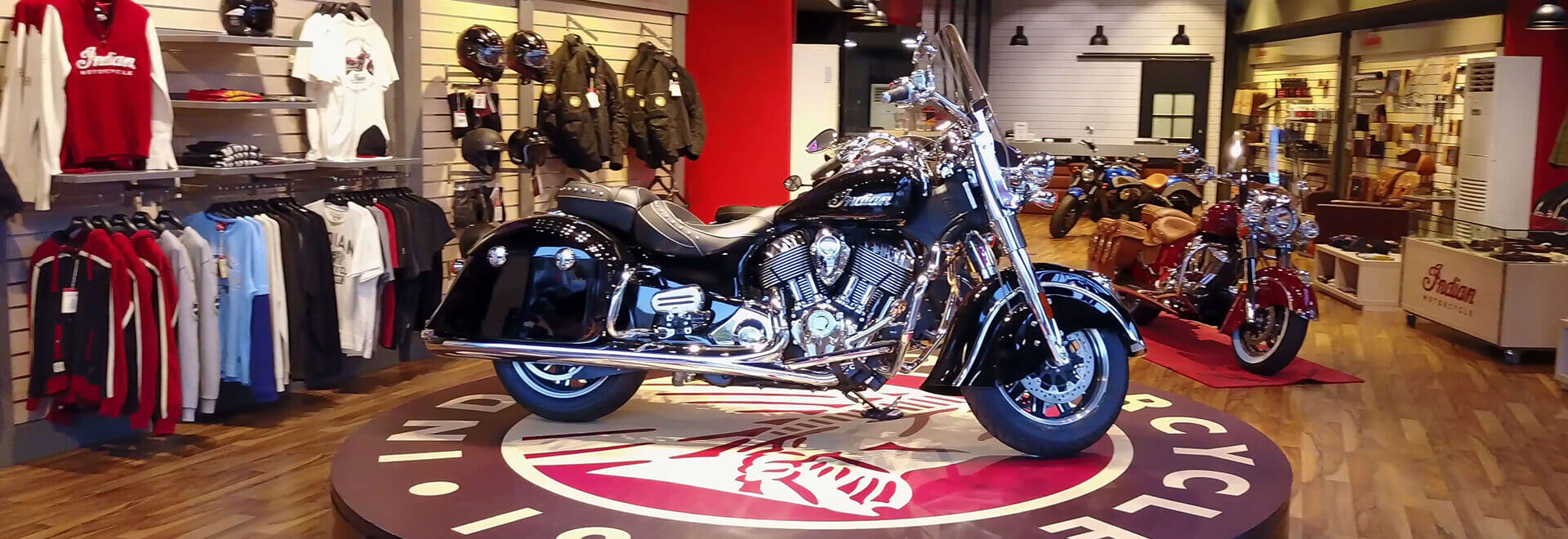 Indian Motorcycle Showroom - Athens