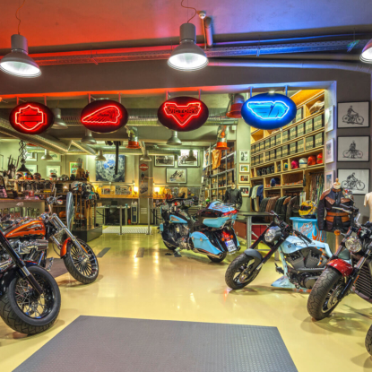 Legendary Motorcycles repair shop