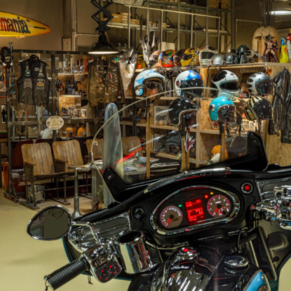 Legendary Motorcycles & Rides repair shop