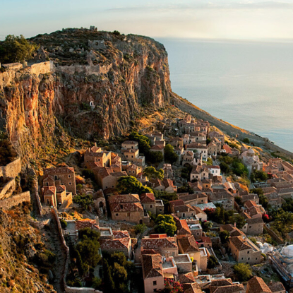 The hidden city of Monemvasia