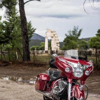 Posing in Epidavros..